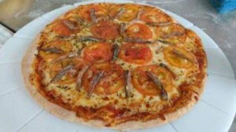 Cardápio de pizzas para o Carnaval