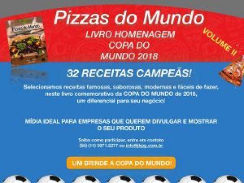 Livro Pizzas do Mundo II – 32 Receitas Campeãs
